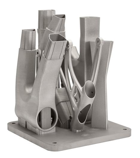 3D printed bicycle frame