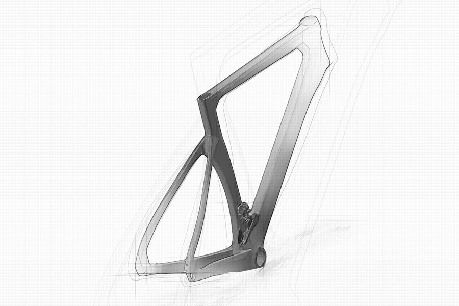 Aero roadframe design